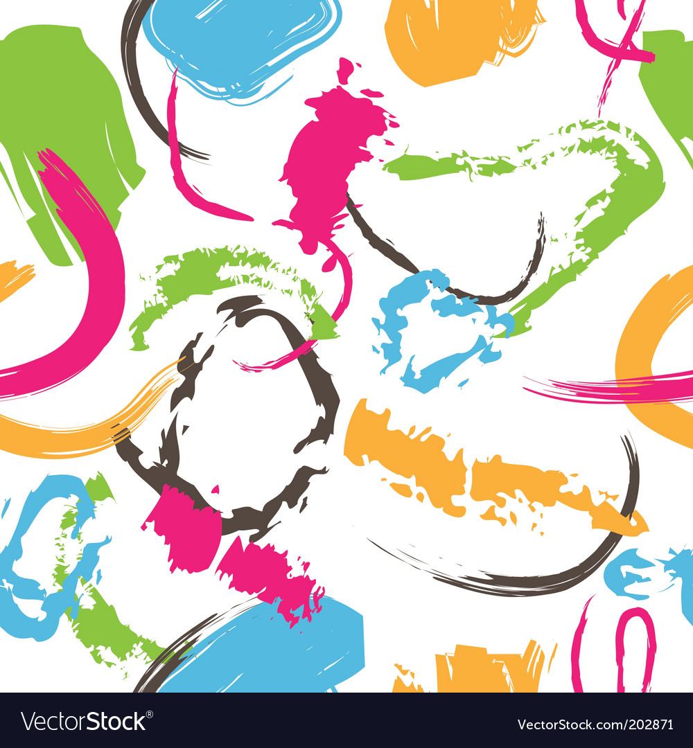 Splatter paint pattern vector | Price: 1 Credit (USD $1)