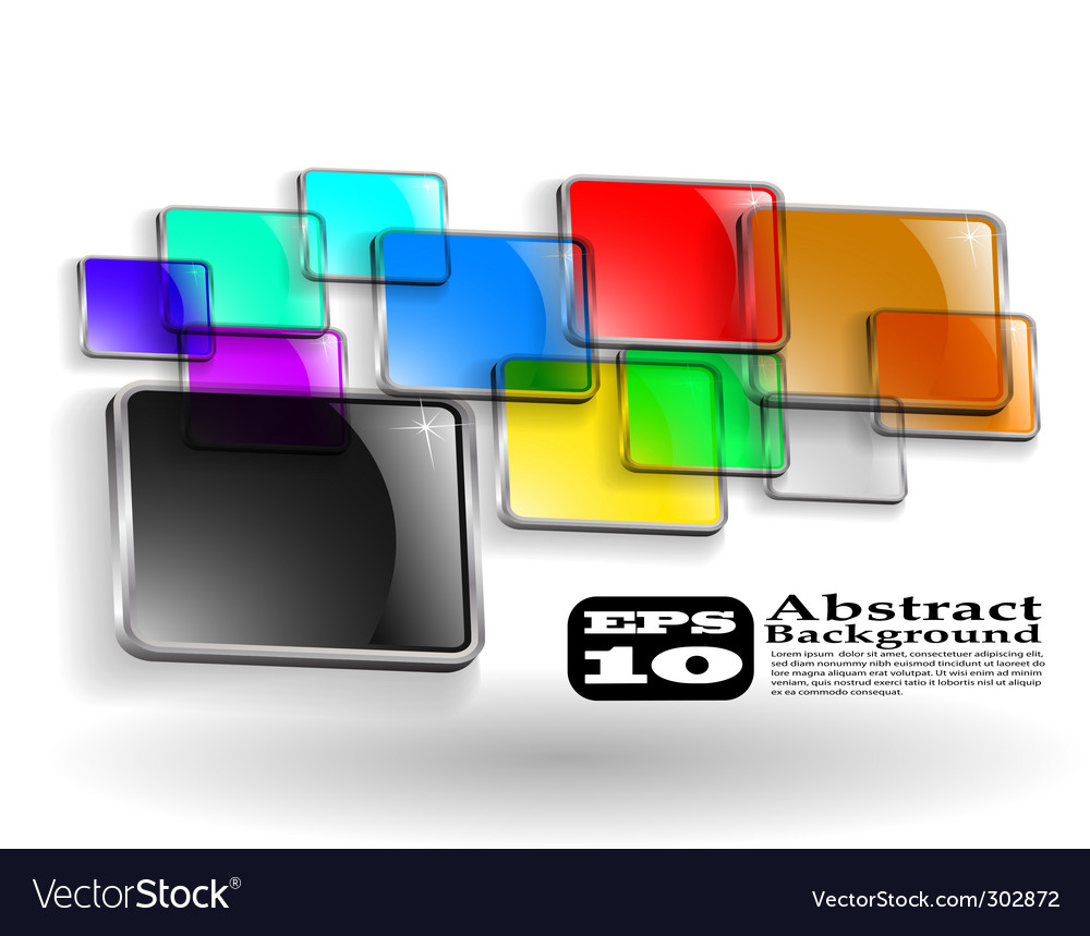 Abstract color background eps vector | Price: 1 Credit (USD $1)