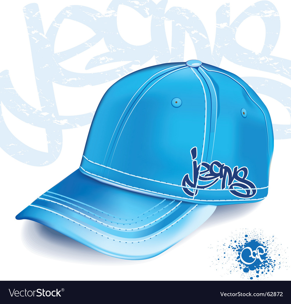 Jeans cap vector | Price: 1 Credit (USD $1)