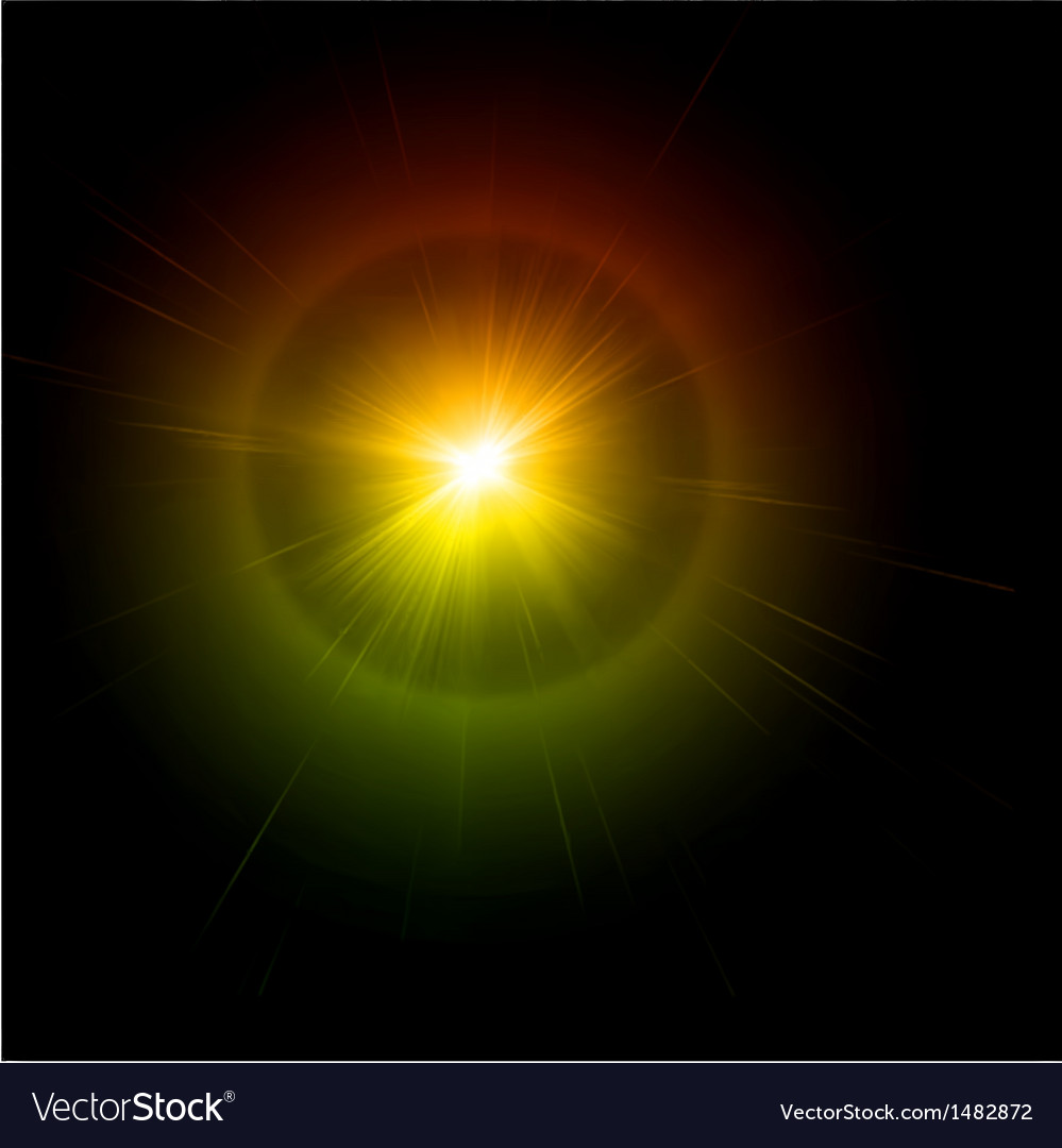 Light flare effect vector | Price: 1 Credit (USD $1)