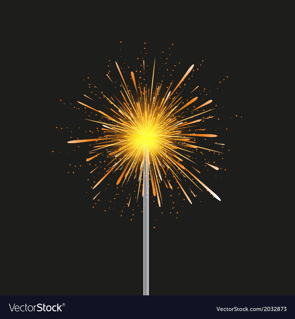 Sparkler modern background eps 10 vector | Price: 1 Credit (USD $1)