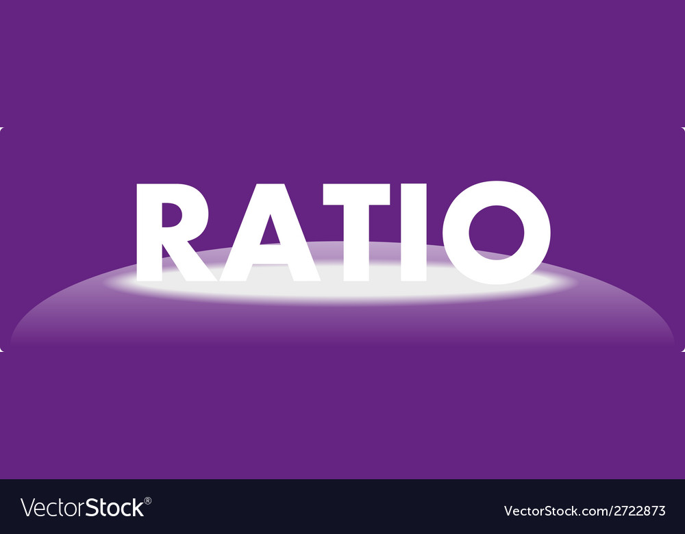 Web icon ratio vector | Price: 1 Credit (USD $1)