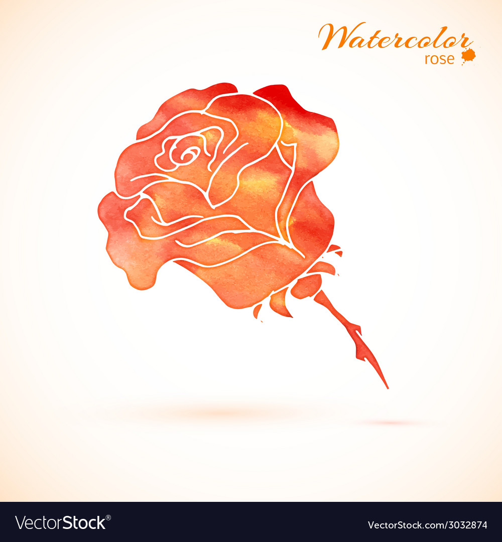 Background of flowers rose vector | Price: 1 Credit (USD $1)