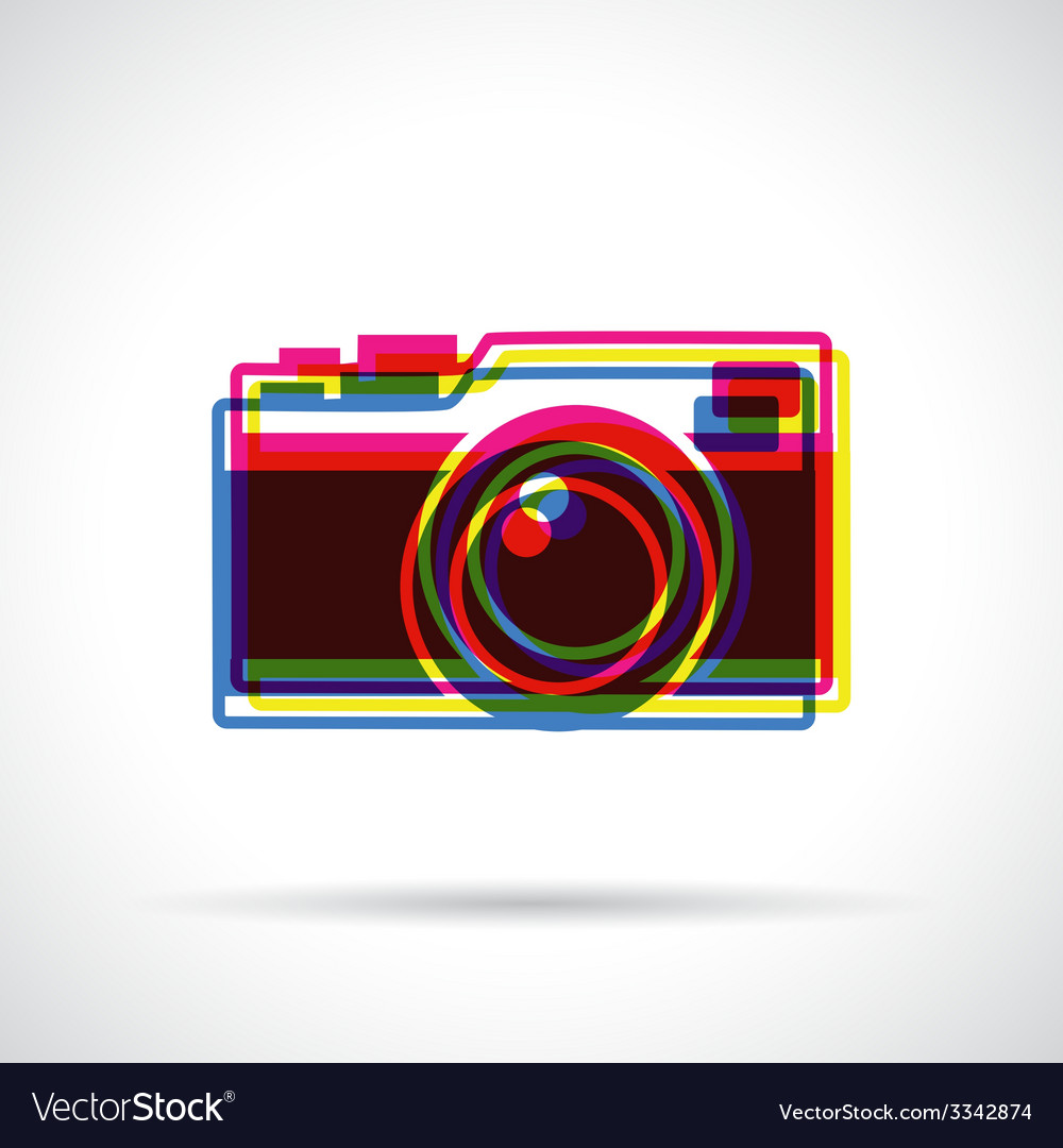 Hipster camera icon vector | Price: 1 Credit (USD $1)