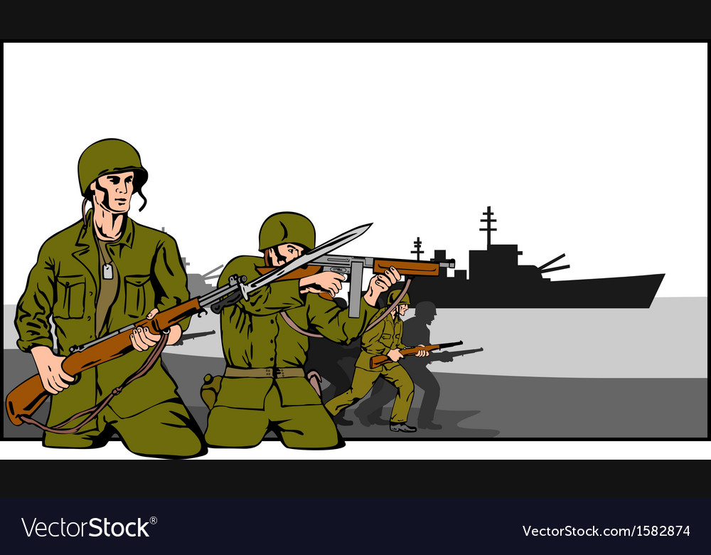 Marines attacking vector   Price: 1 Credit (USD $1)