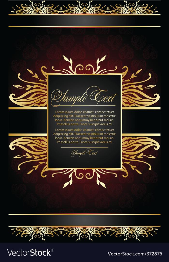 Elegant card vector   Price: 1 Credit (USD $1)
