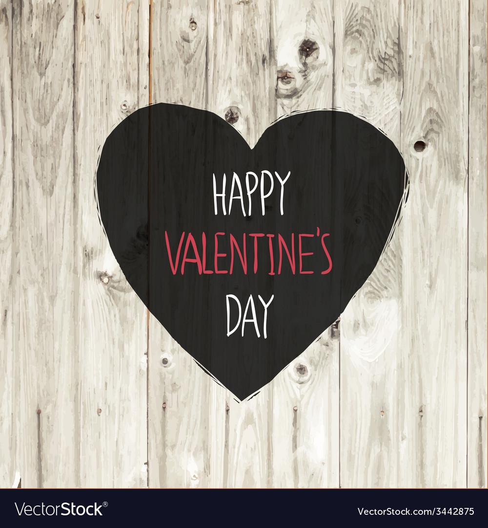 Valentines day lighten wooden texture vector   Price: 1 Credit (USD $1)