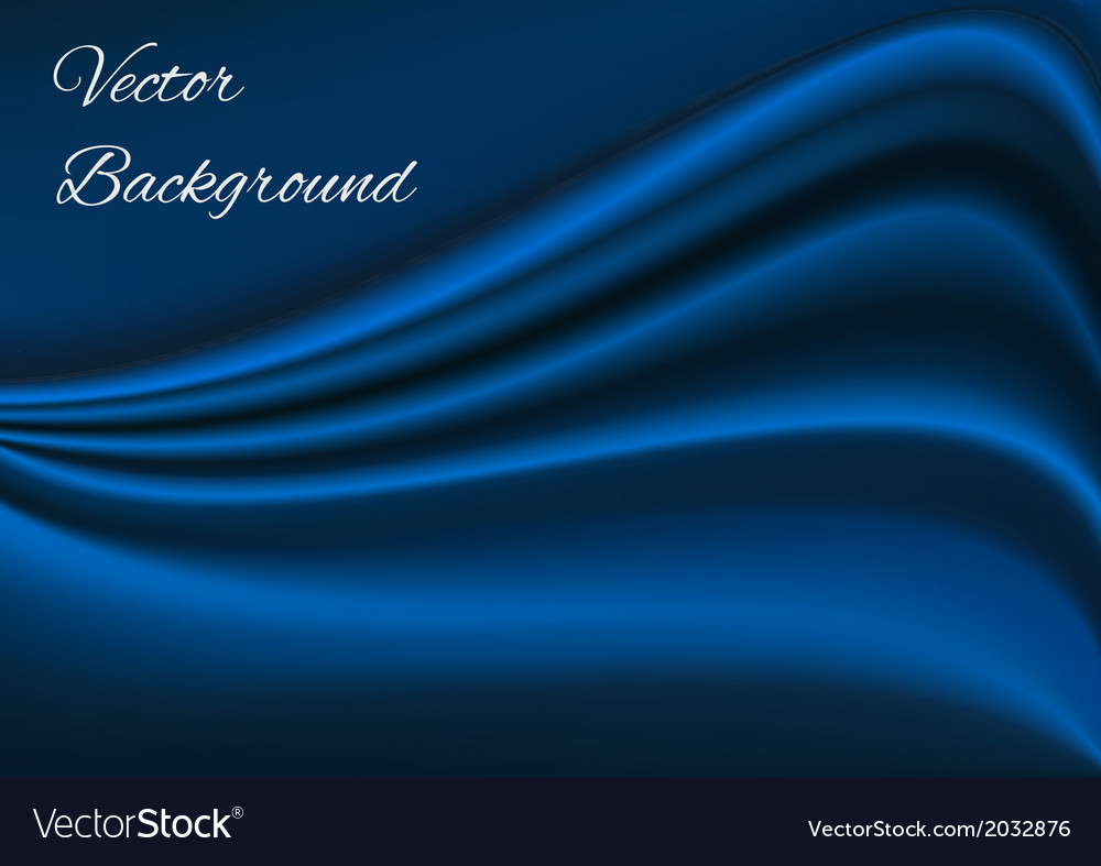 Artistic blue fabric texture background vector | Price: 1 Credit (USD $1)