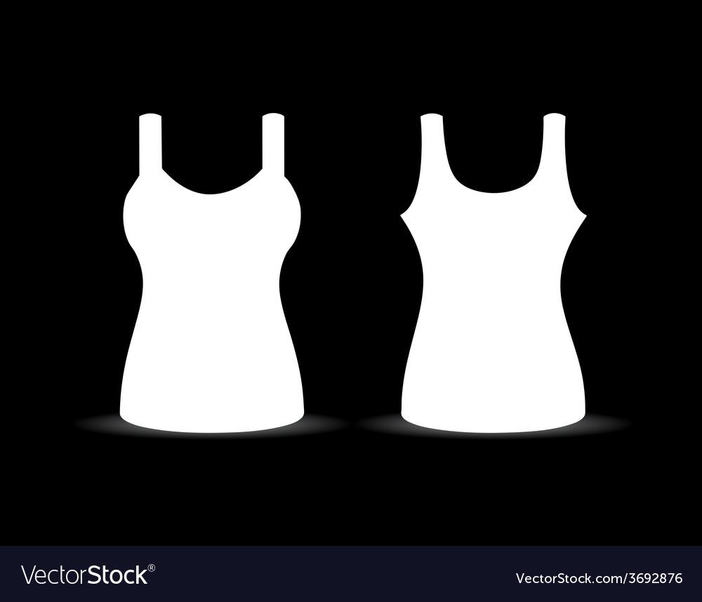 Blank singlet vector | Price: 1 Credit (USD $1)