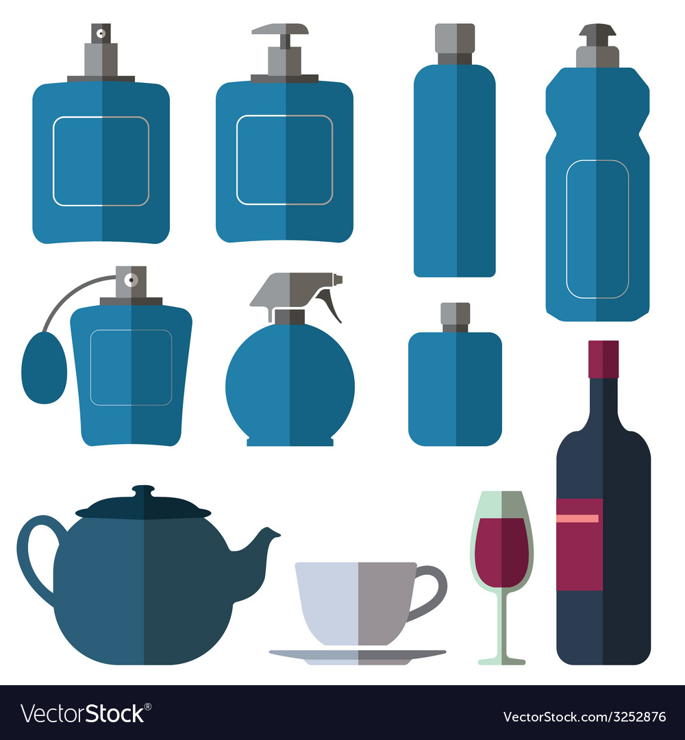 Bottle collection vector | Price: 1 Credit (USD $1)
