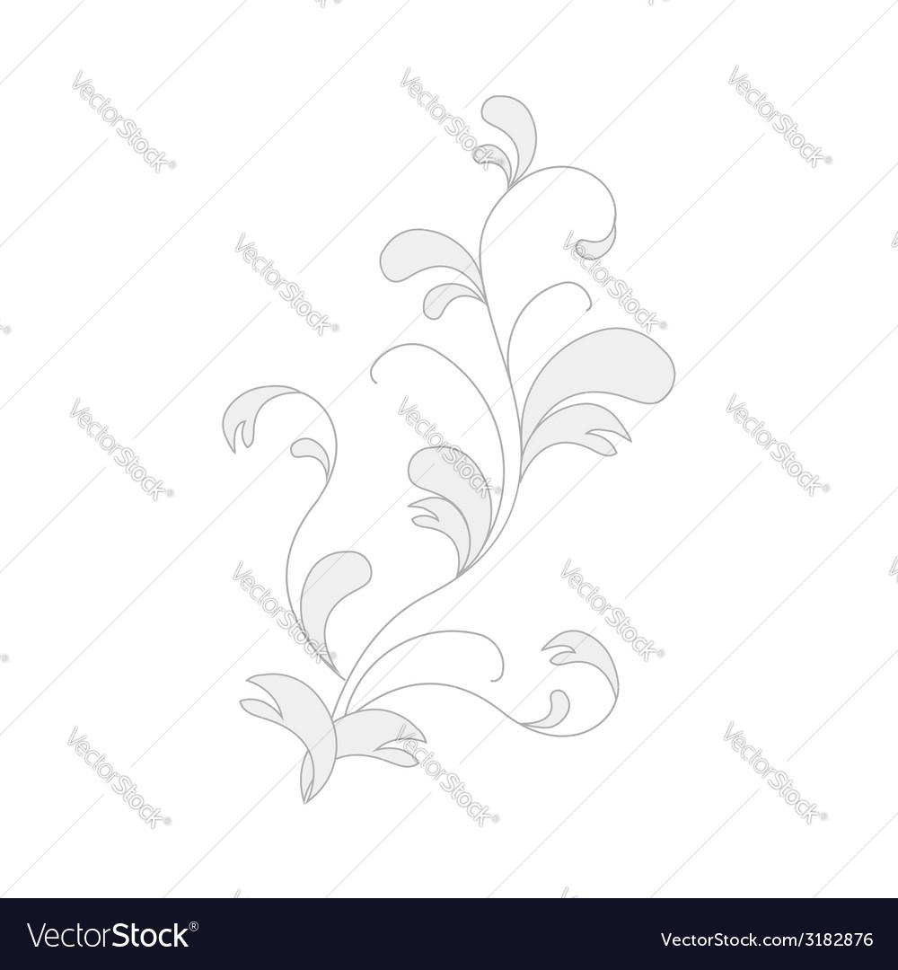 Flora element for design vector | Price: 1 Credit (USD $1)