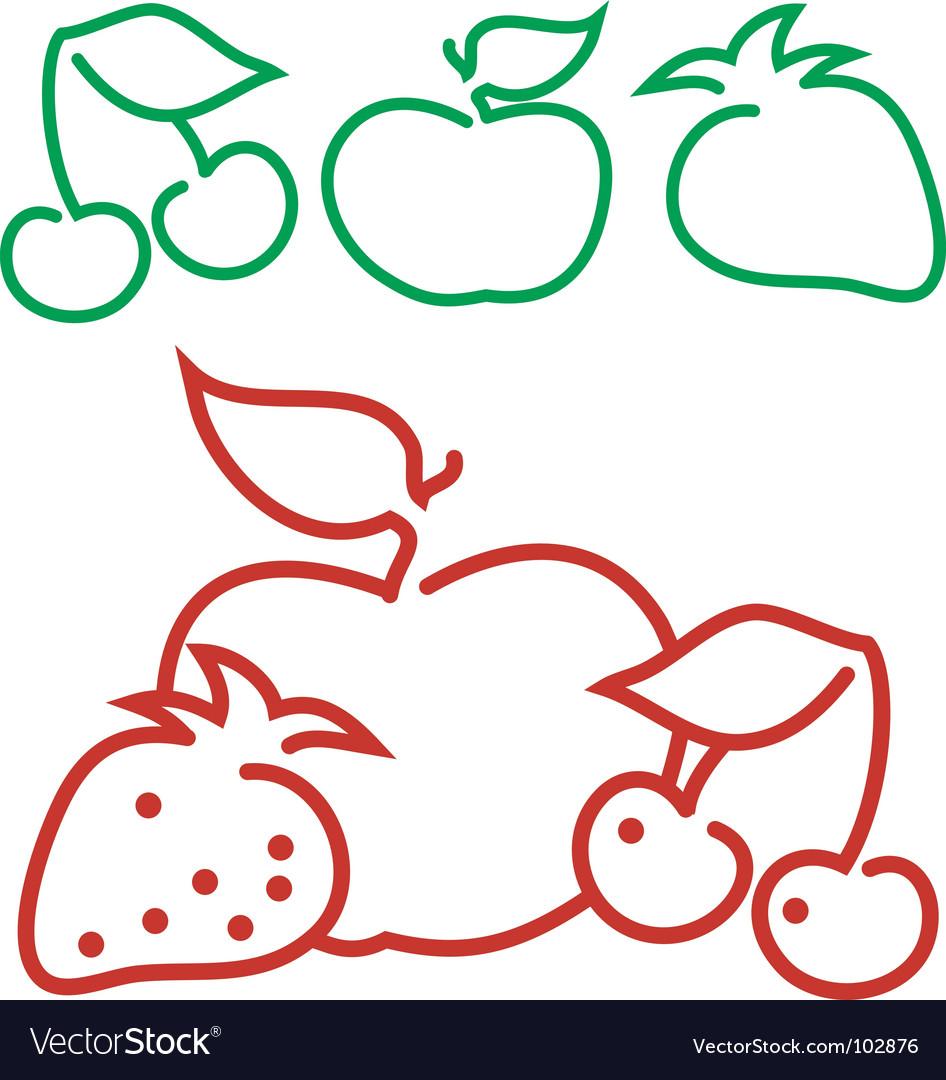 Fruit logo vector   Price: 1 Credit (USD $1)