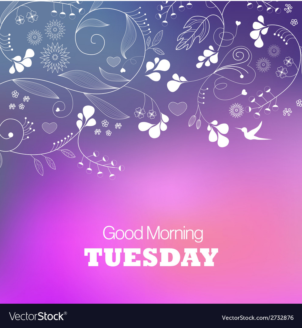 Tuesday vector | Price: 1 Credit (USD $1)