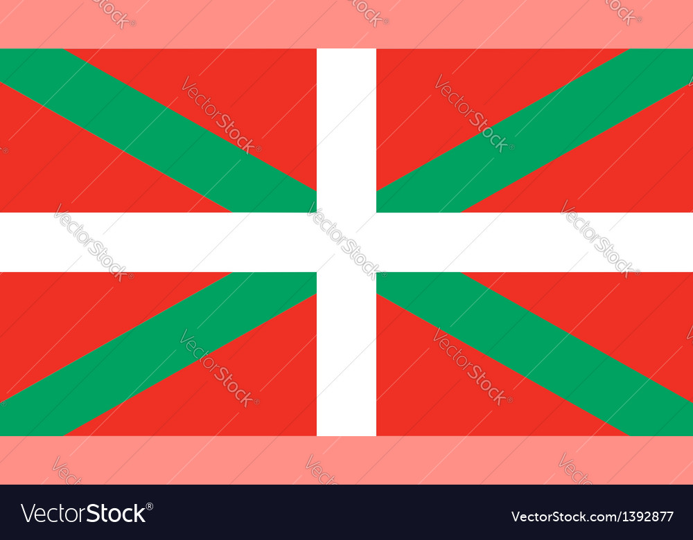 Basque country flag vector | Price: 1 Credit (USD $1)