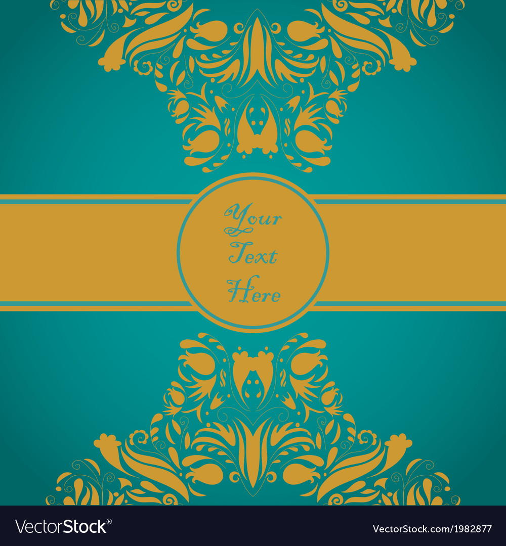 Elegant invitation vector | Price: 1 Credit (USD $1)