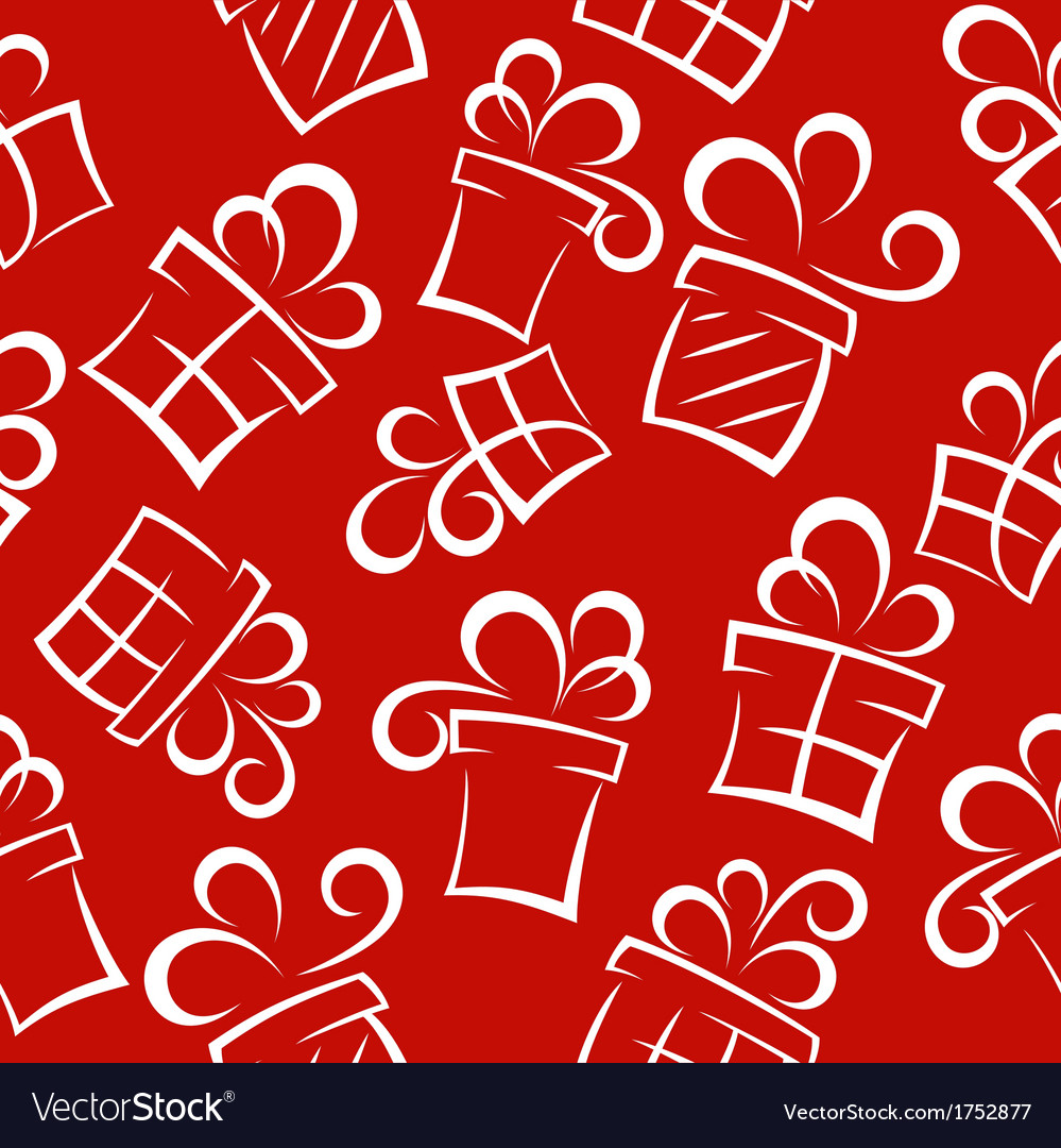Gift pattern background vector | Price: 1 Credit (USD $1)