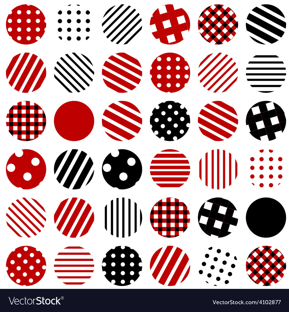 Patterned circles background vector | Price: 1 Credit (USD $1)