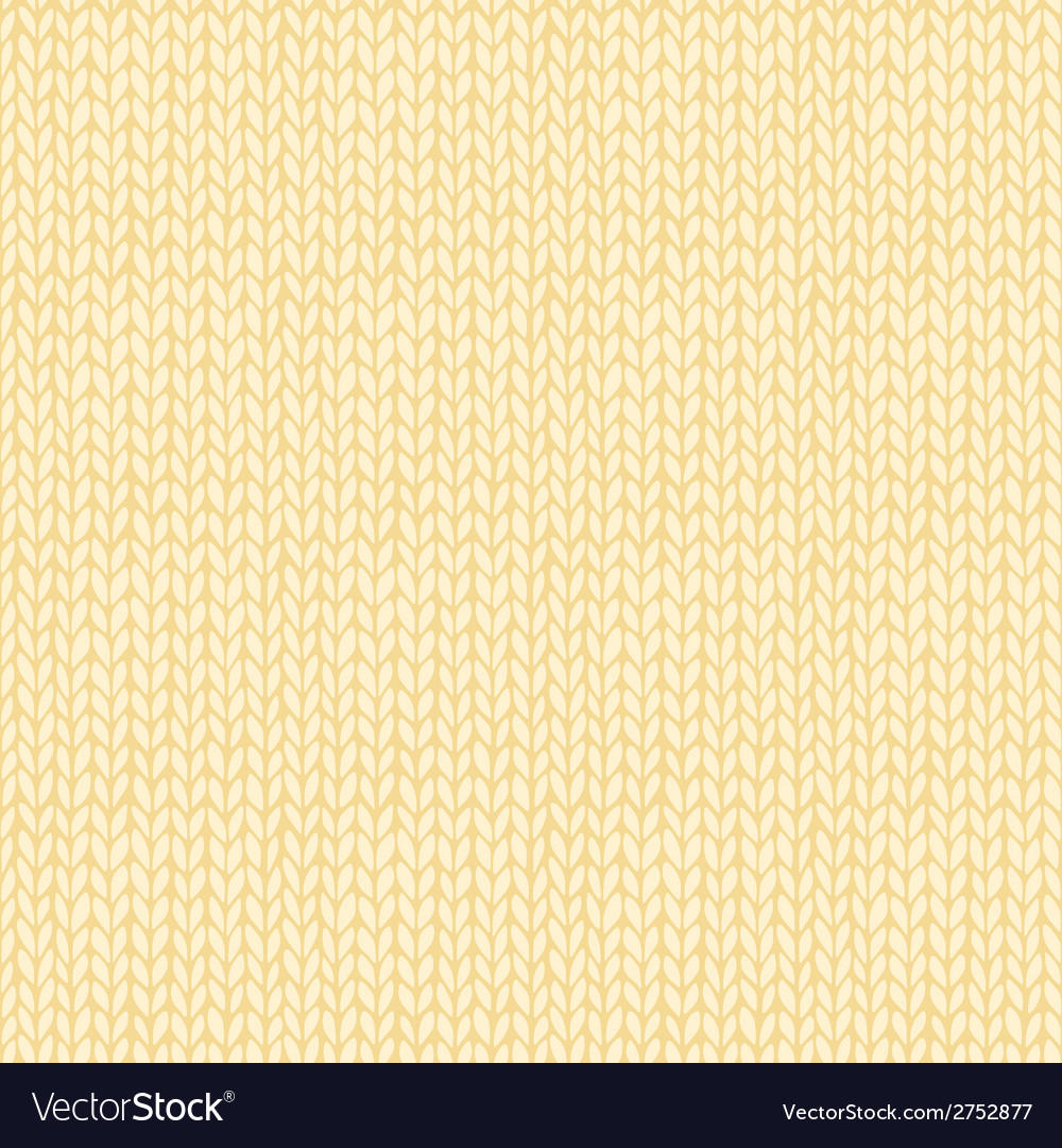 Seamless knitted hand drawn background vector | Price: 1 Credit (USD $1)