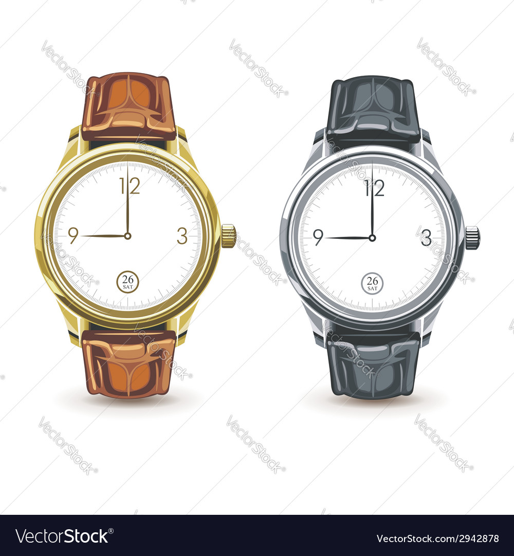 Watches vector | Price: 1 Credit (USD $1)