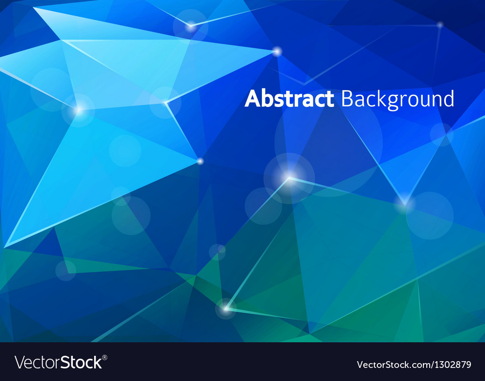 Abstract polygon background vector | Price: 1 Credit (USD $1)