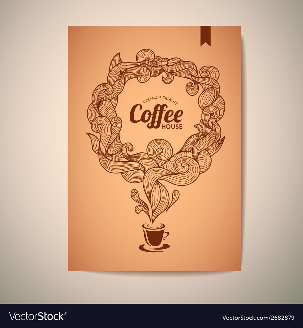 Coffee concept design vector | Price: 1 Credit (USD $1)