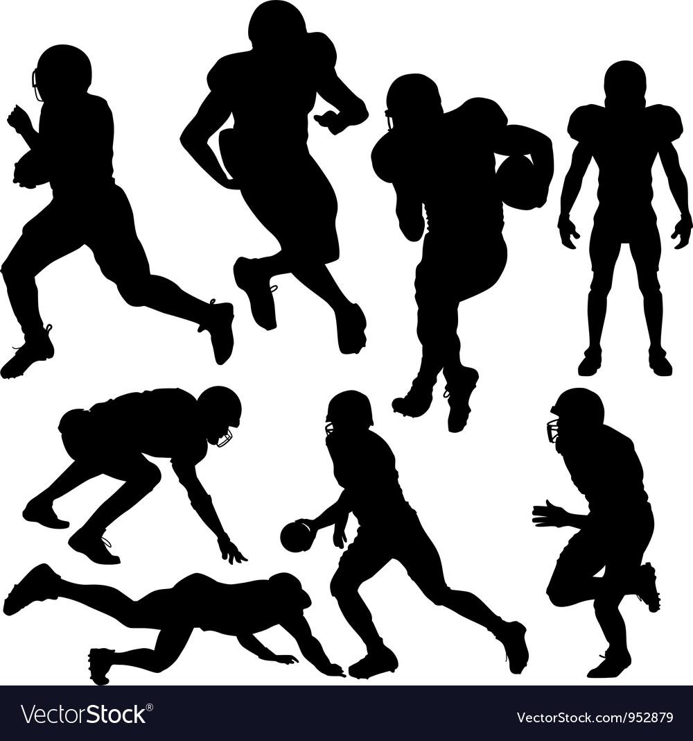Footballplayers vector | Price: 1 Credit (USD $1)