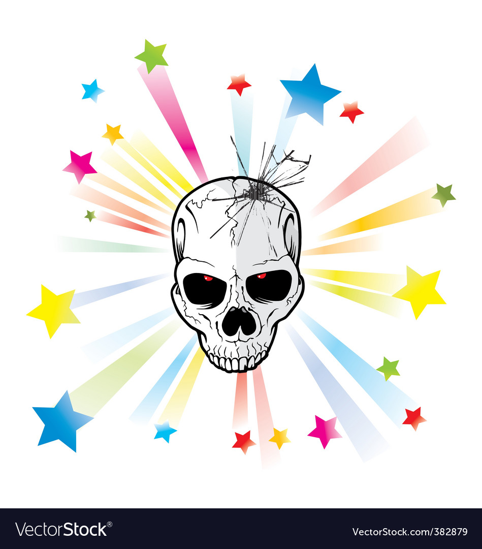 Starlight skeleton vector | Price: 1 Credit (USD $1)