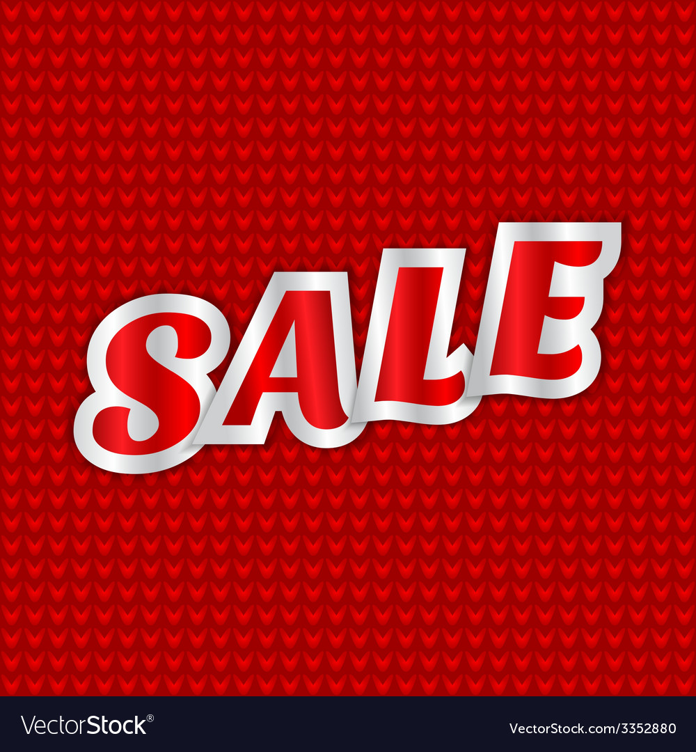 Christmas sale message vector | Price: 1 Credit (USD $1)