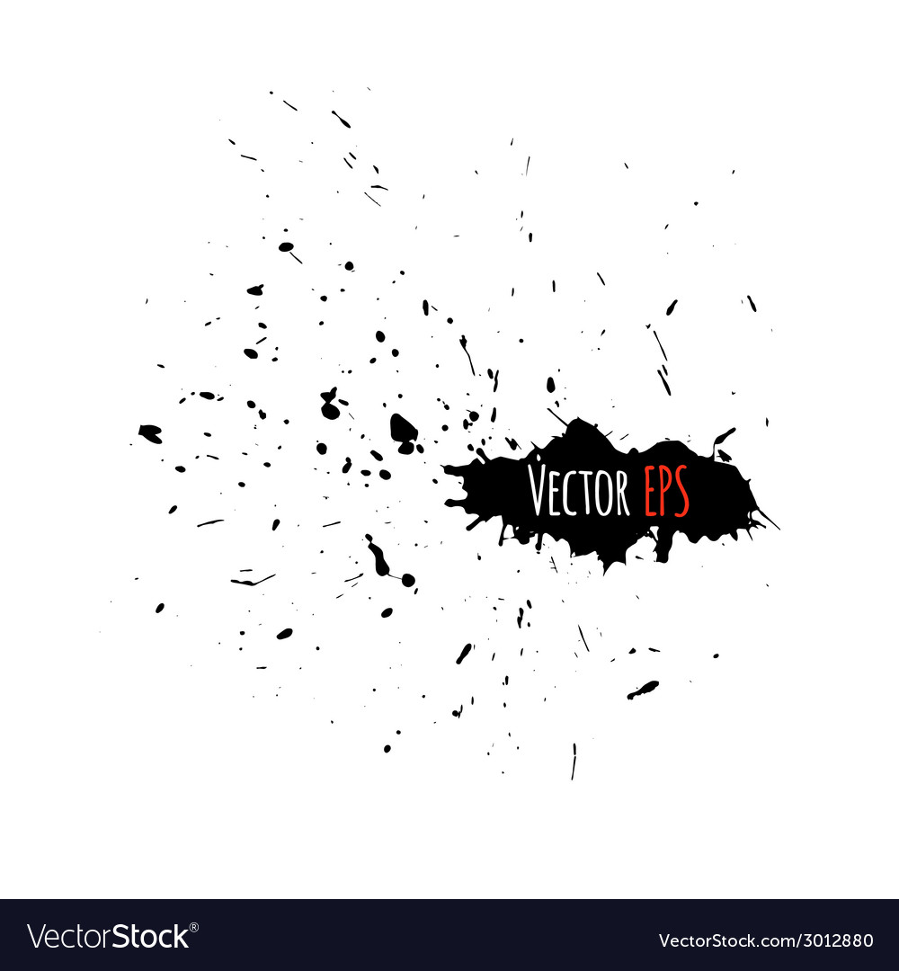 Grunge background with a big splash for your vector | Price: 1 Credit (USD $1)