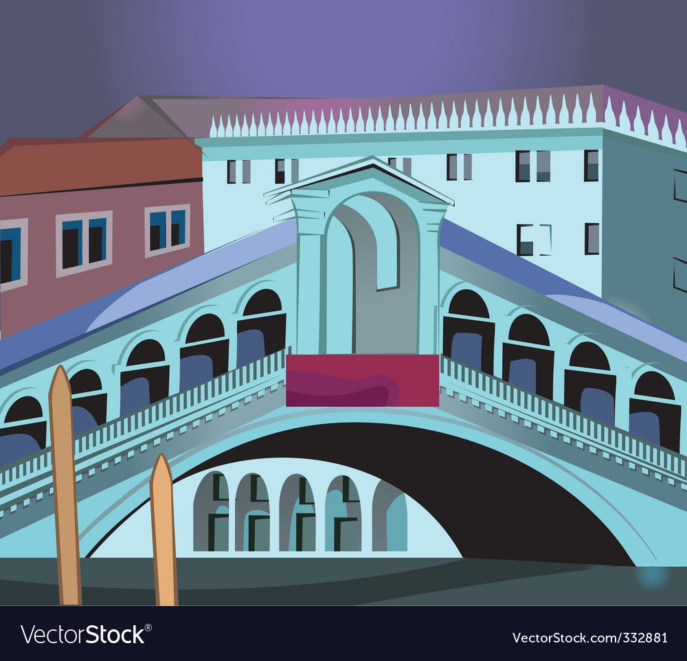 Grand canal vector | Price: 1 Credit (USD $1)