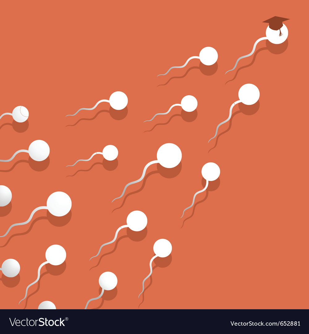 Sperm vector | Price: 1 Credit (USD $1)