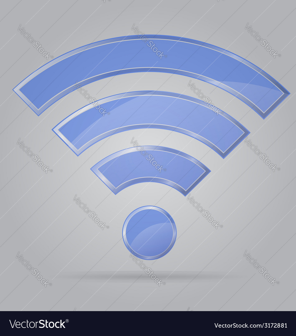 Transparent sign wi fi 01 vector | Price: 1 Credit (USD $1)