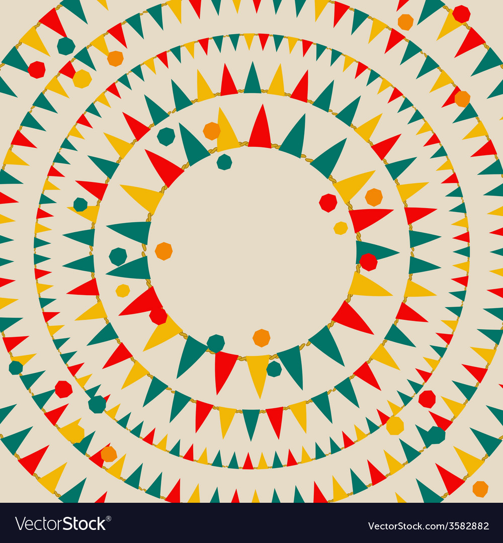 Colorful confetti and flags on gray vector   Price: 1 Credit (USD $1)