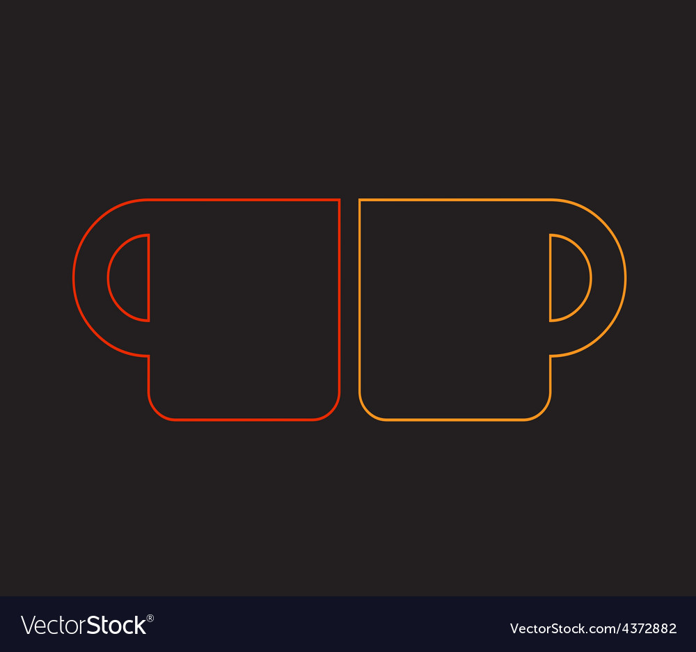Warm drink art vector | Price: 1 Credit (USD $1)