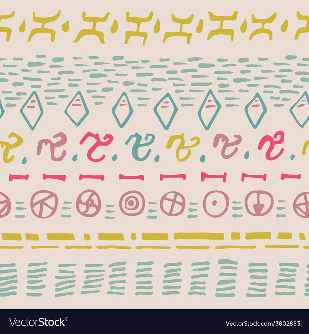 Abstract horizontal seamless pattern background vector | Price: 1 Credit (USD $1)
