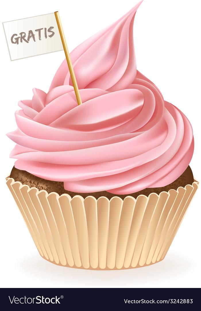 Gratis cupcake vector | Price: 3 Credit (USD $3)