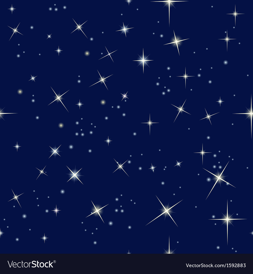 Night sky and stars vector | Price: 1 Credit (USD $1)