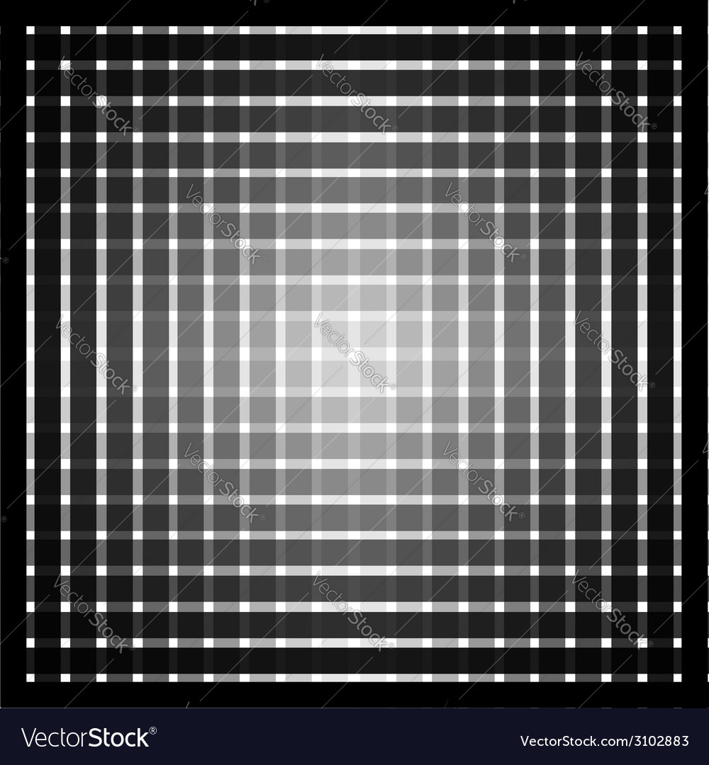 Optical art grid in black and grey with white dots vector | Price: 1 Credit (USD $1)