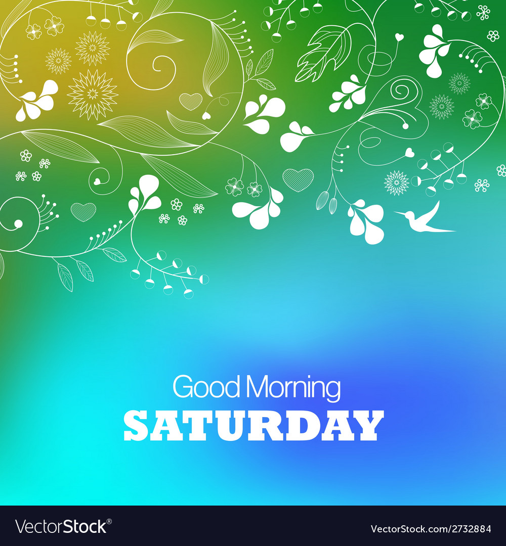 Saturday vector | Price: 1 Credit (USD $1)