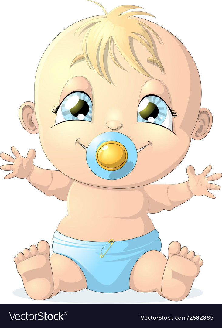 Baby 1 vector | Price: 1 Credit (USD $1)