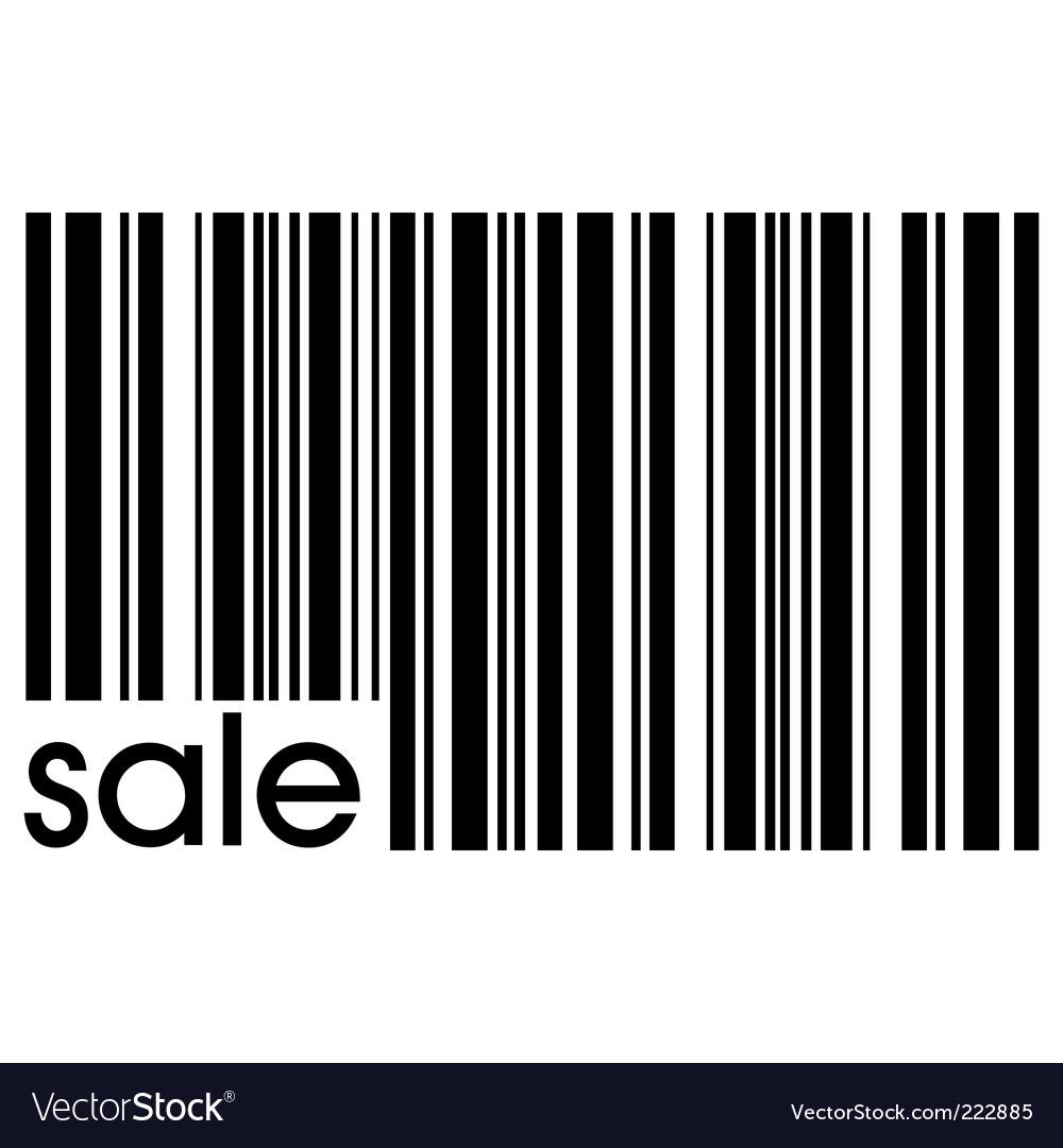 Bar code vector | Price: 1 Credit (USD $1)