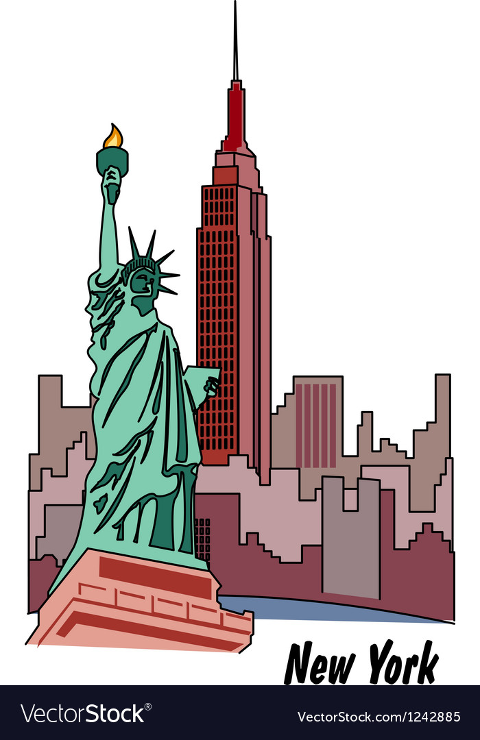 New york poster vector | Price: 1 Credit (USD $1)
