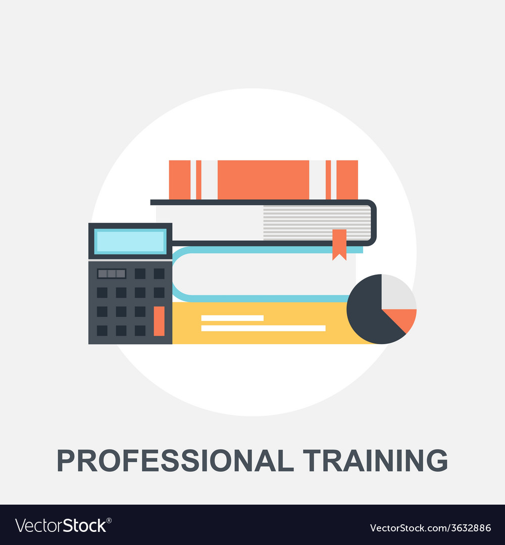 Professional training vector | Price: 1 Credit (USD $1)