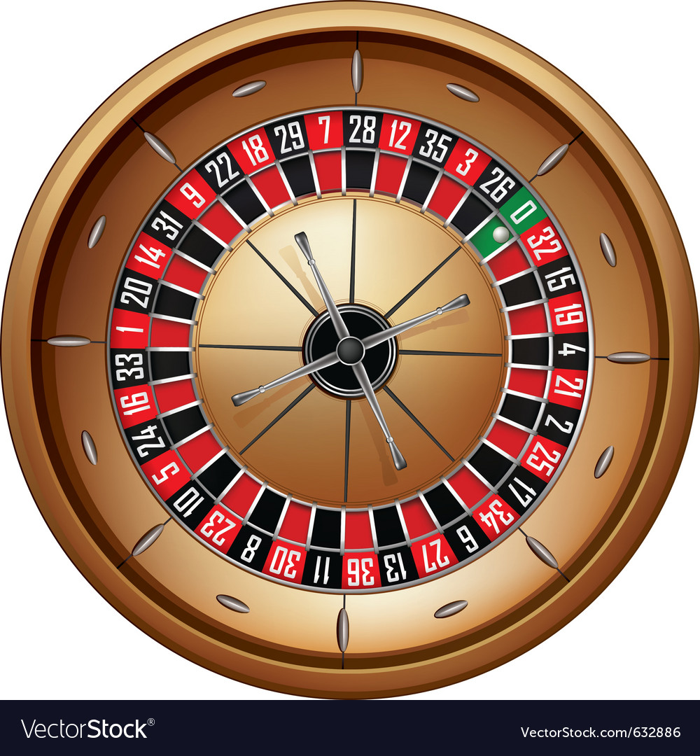Roulette vector | Price: 1 Credit (USD $1)