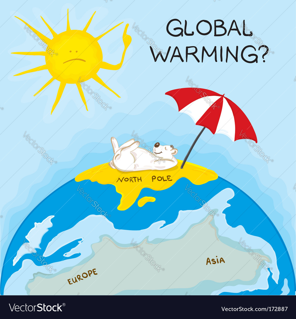 Global warming vector | Price: 1 Credit (USD $1)