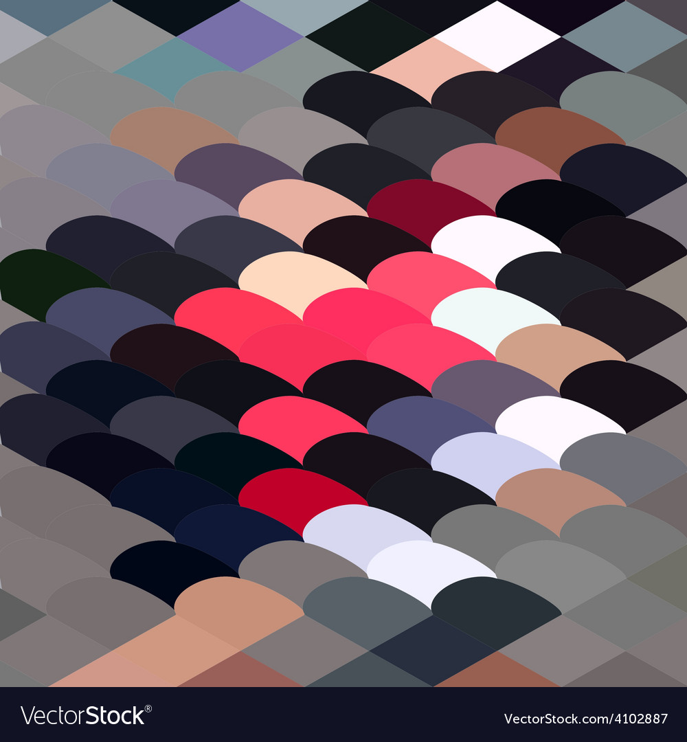 Pebble abstract low polygon background vector | Price: 1 Credit (USD $1)