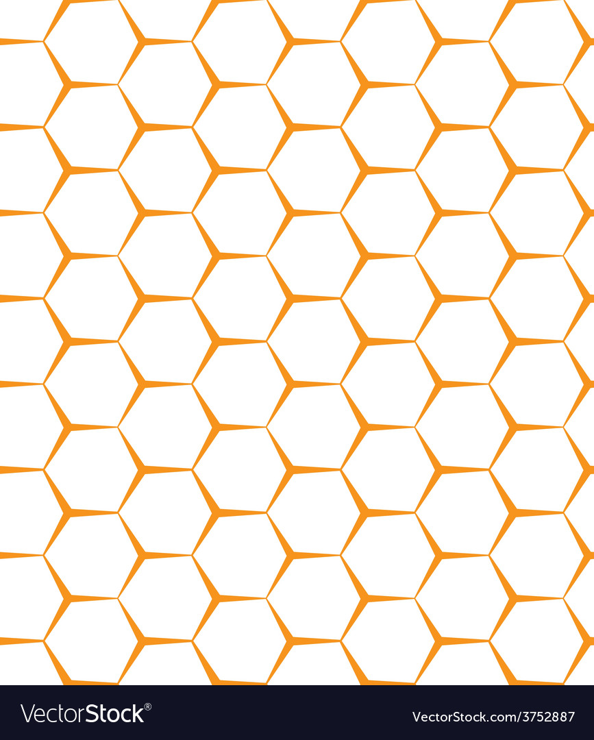 Seamless background backdrop empty honeycomb vector | Price: 1 Credit (USD $1)