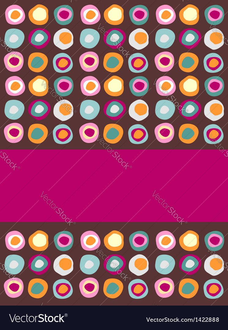 Multicolored dots background vector | Price: 1 Credit (USD $1)