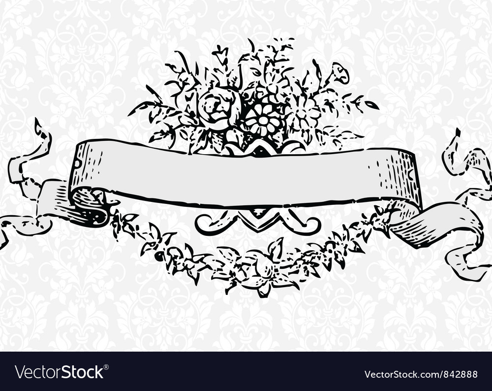 Victorian scroll vector | Price: 1 Credit (USD $1)