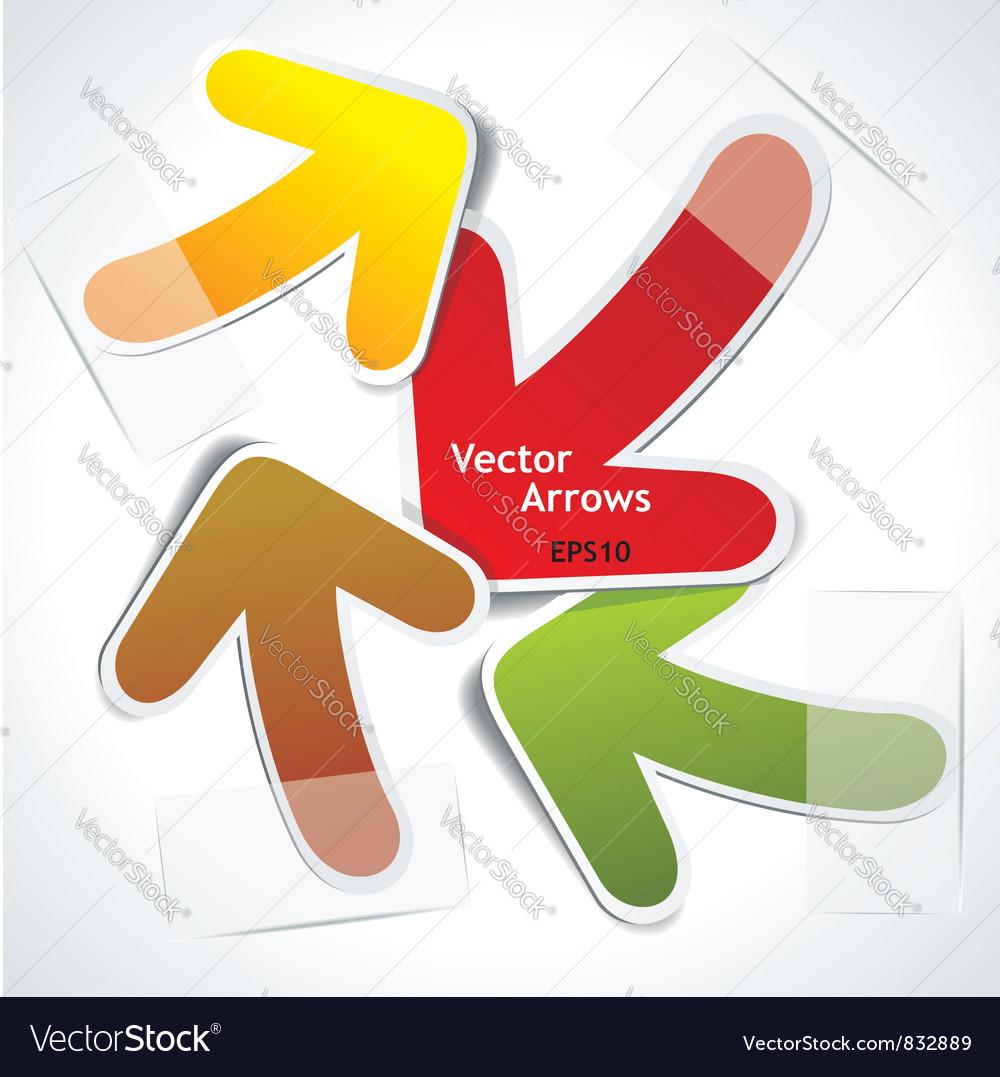 Arrows chaos vector | Price: 1 Credit (USD $1)